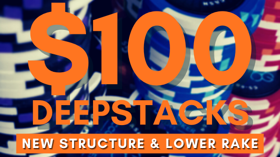 The New $100 Deepstack