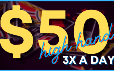 $50 HIGH HAND GIVEAWAY~